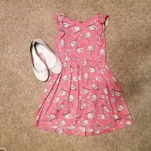Carter girls dress comes with shoes